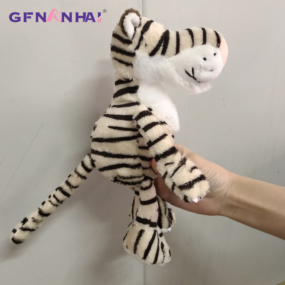 Image 4 - 5pcs/lot 25cm kawaii Forest Animal  Series Plush toy Cute Giraffe Elephant Lion Monkey Zebra Dolls Stuffed Soft toys for KidsStuffed & Plush Animals   -