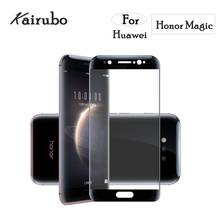 5PCS FULL Cover 3D tempered glass film For Huawei Honor magic 5.09 Curved huawei NTS-AL00 edge Tempered Glass