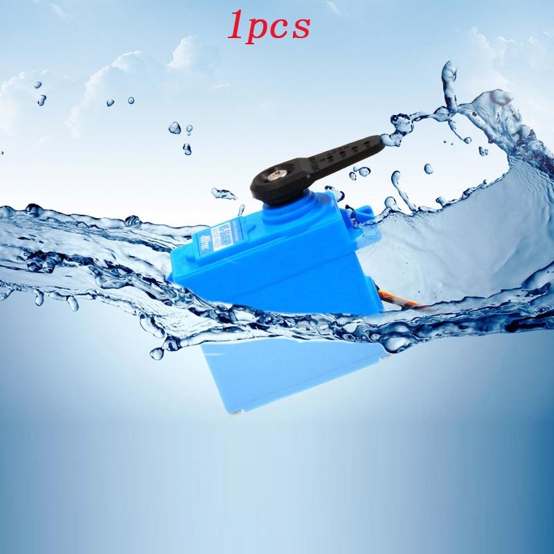 IP67 Wasserdicht Servo 13kg Hochdruck Hitec HS 5646WP 6 V 7,4 V Doppel Kugellager Digitale Lenkgetriebe fr RC Autos/Boot