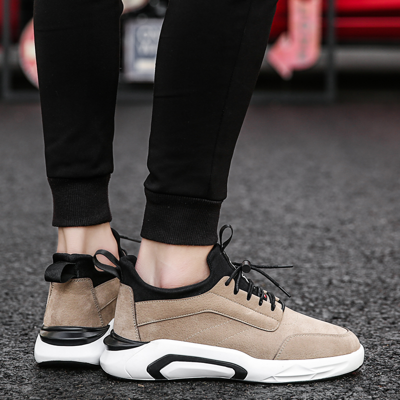 2018 Spring/Autumn Men's Vulcanize Shoes Fashion Sneakers Men Casual Shoes Flats Men Shoes Chaussure Homme Designer Sneakers 1