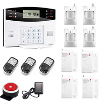 Wireless GSM Alarm System 433MHz Home Burglar Security Alarm System APP Voice Prompt Wireless Door Sensor