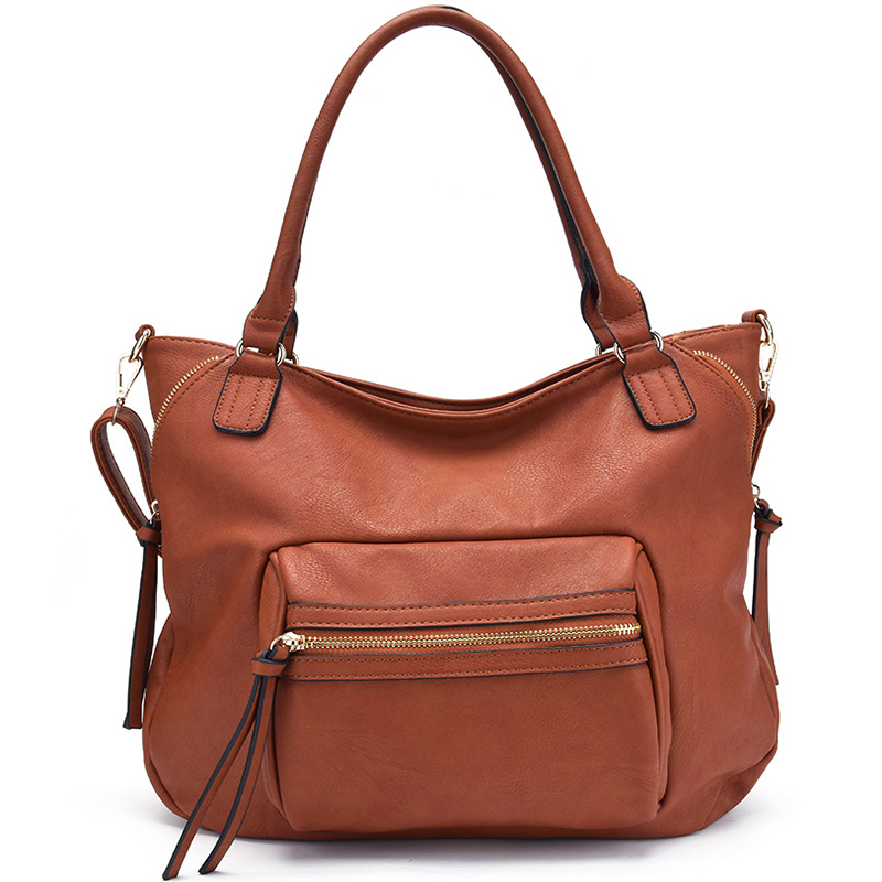 women 39 s handbags for PU leather bag female hobos shoulder crossbody bags high quality leather totes women messenger bag NEW 2019 in Top Handle Bags from Luggage amp Bags