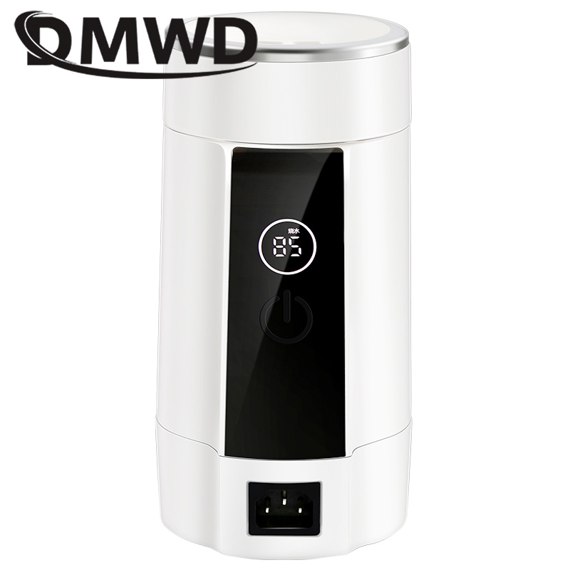 DMWD Mini Electric Kettle Travel Hot Water Heating Cup Heater Stew Slow Cooker Portable Boiler Thermal Tea Pot EU US plugDMWD Mini Electric Kettle Travel Hot Water Heating Cup Heater Stew Slow Cooker Portable Boiler Thermal Tea Pot EU US plug