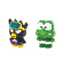 hot LegoINGlys creators japan cartoon image hello micro diamond building blocks cat Kitty Melody rabbit Keroppi Rana toys gift
