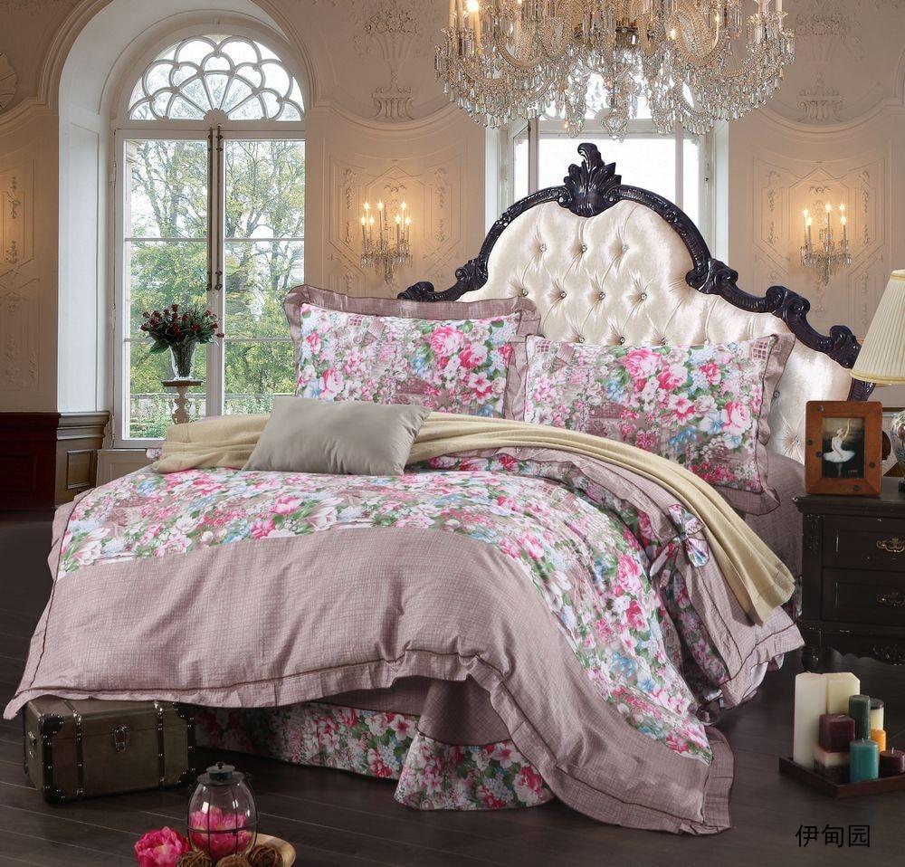 popular flower bedding setsbuy cheap flower bedding sets lots  -  flower bedding set for kids new king queen twin size  cotton duvetcover