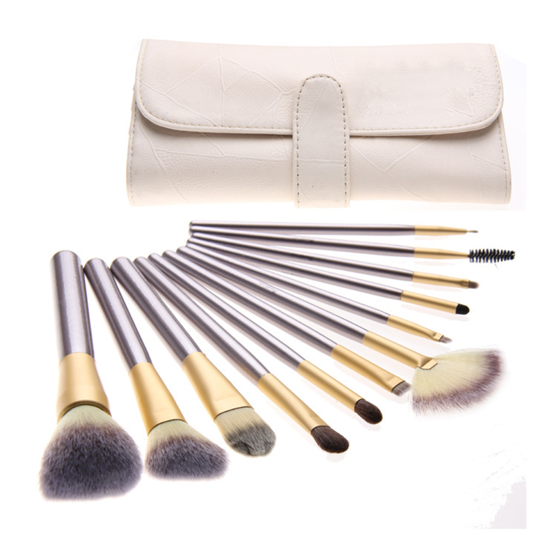 2017 New Professional Makeup Brushes Set Cosmetic Tools Eyeshadow Foundation Powder Blush Brush Free Shipping I125 reduced coenzyme q10 coq10 powder in cosmetic 700g lot free shipping
