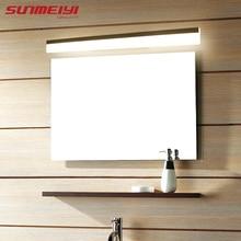 Modern led mirror light waterproof wall lamp fixture AC85-220V Acrylic wall mounted bathroom lighting decoration Sconce
