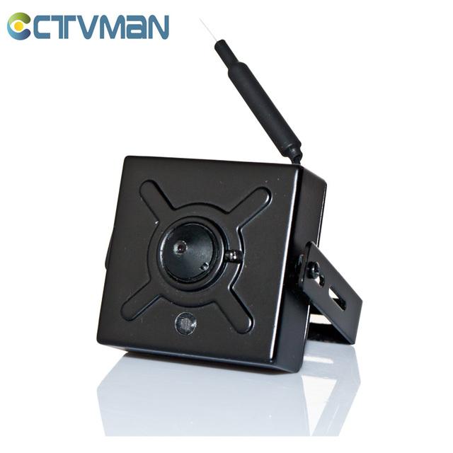 CCTVMAN Super Mini Câmera IP 720 P Sem Fio WIFI Grande Angular Pinhole Slot Para Cartão TF Suporte de Áudio P2P 1MP lente Cam IP Micro