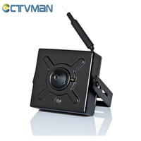 CCTVMAN Super IP Mini Camera 720P Wireless WIFI Pinhole Wide Angle Lens 1MP Audio TF Card