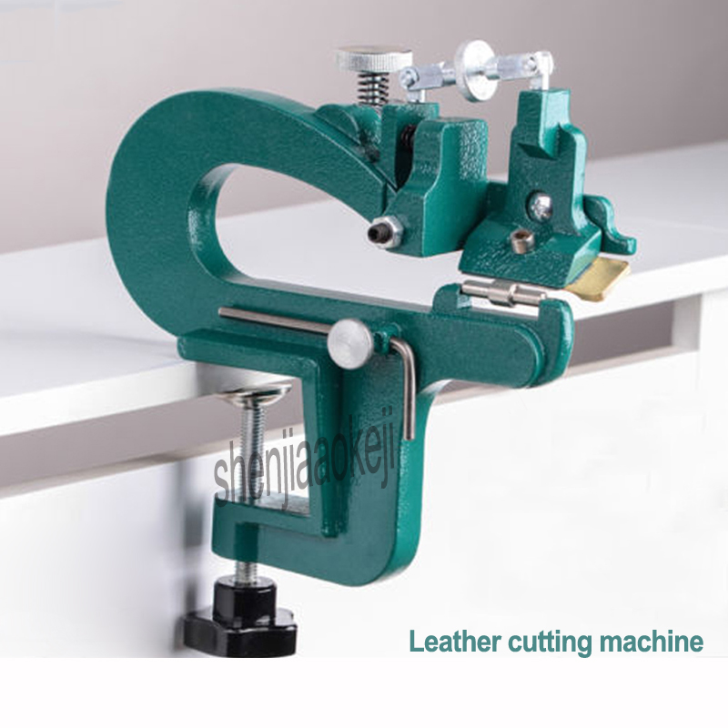 1pc Manual peeling machine Leather cutting machine 809G Leather splitter vegetable tanned leather peeler leathers paring