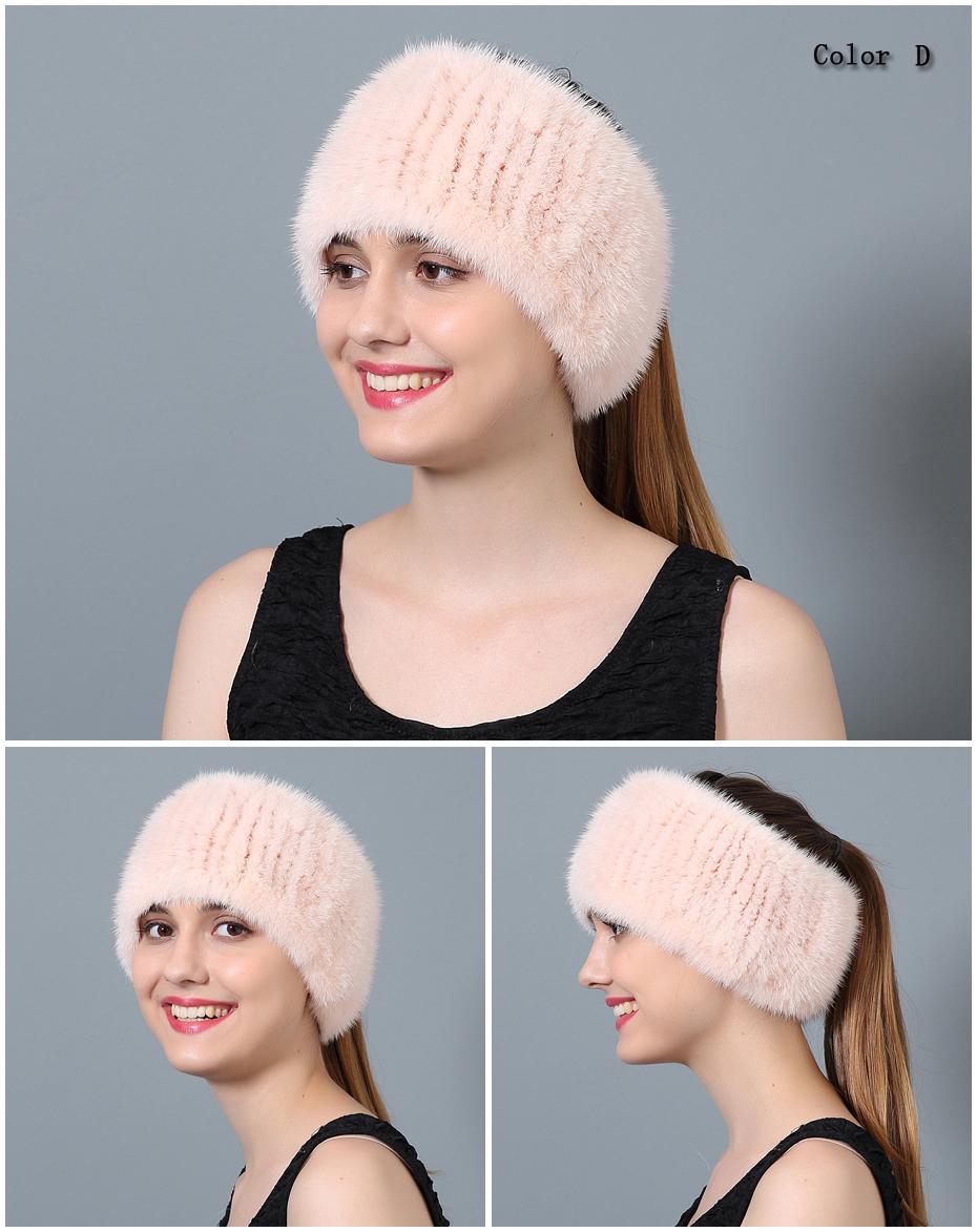 United 2018 QiuMei ใช้หมวกผ้าพันคอผ้าพันคอขนสัตว์ฤดูหนาวหญิงของแท้หมวกขนสัตว์ 16