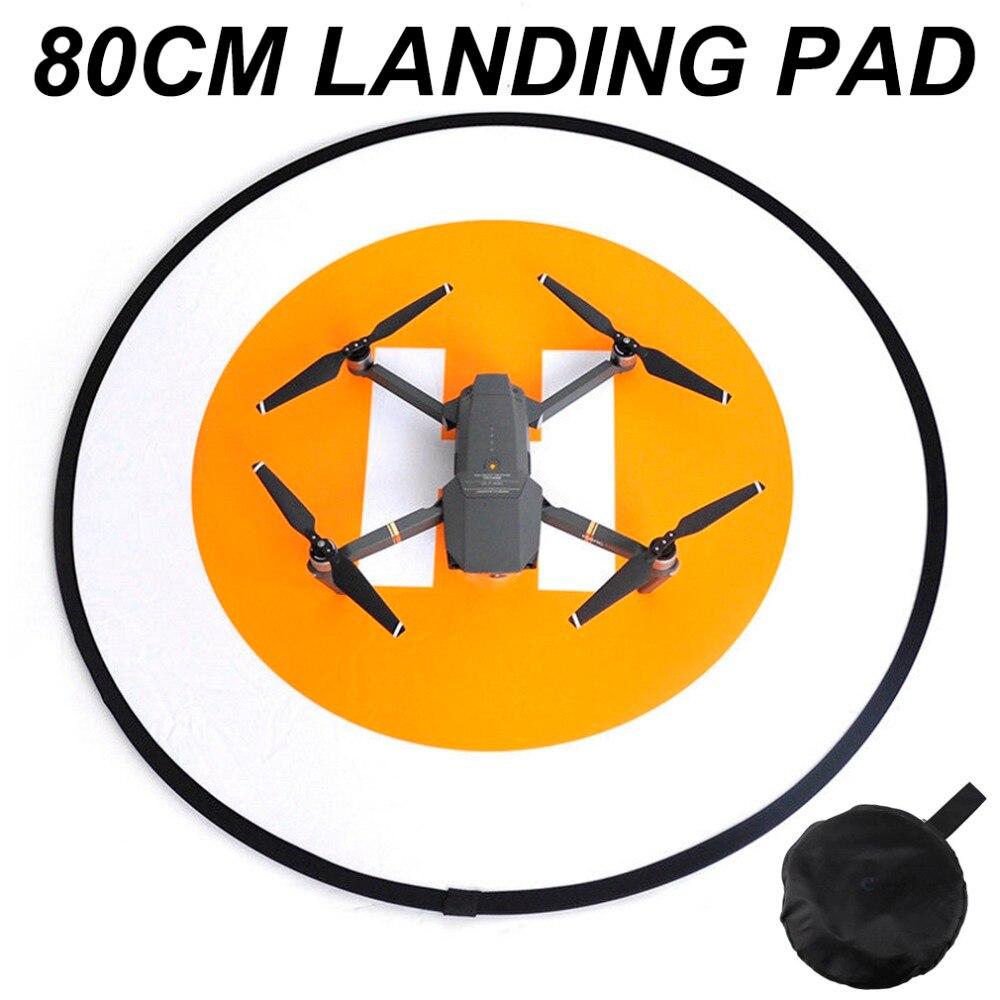 80CM Landing Pad Folding Parking Zone Apron Helipad For DJI Mavic Pro 2 Zoom air Spark phantom 3 4 PRO Inspire 1 Yuneec Drone