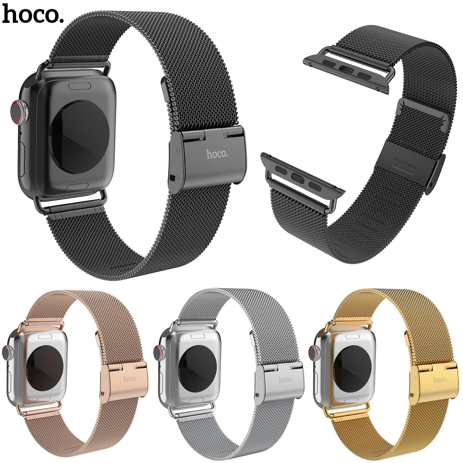 top 8 most popular apple watch milanese loop hoco 42mm ideas ...