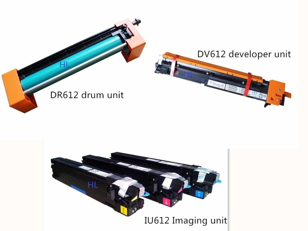 IU612 Imaging unit DV612 developer unit DR612 Drum unit compatible Konica Minolta BIZHUB C452 C552 C652