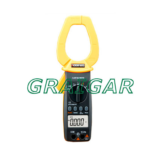 VICTOR 6050 Digital Clamp Meter victor dm6235p digital tachometer