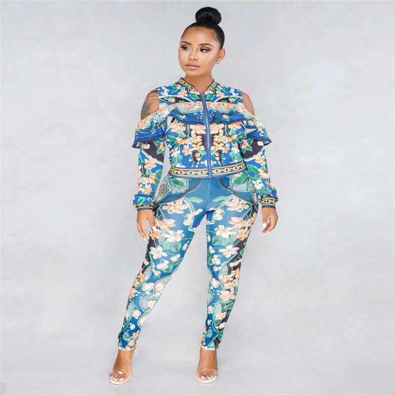 Африканские платья с принтом для женщин, традиционная Дашики, комплект из двух частей в африканском стиле, спортивный костюм с принтом, Bazin, топы, штаны, одежда, женский костюм