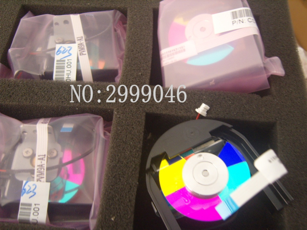 NEW Original REPLACEMENT Projector color wheel For BENQ MP575 MP525P EP3725P DLP Projector Free shipping