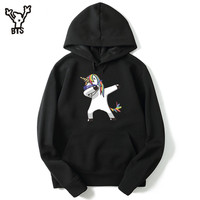 BTS Animal Print Sweatshirt Hoodies Men Hip Hop Funny Autumn Streetwear Hoodies And Sweatshirt For Couples