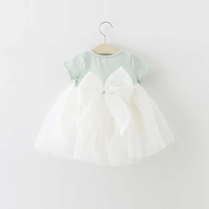 Bé Gái Công Chúa Ăn Mặc Cho Trẻ Sơ Sinh Trẻ Sơ Sinh Quần Áo Mùa Hè 2019 Dễ Thương Bông Bé Cô Gái Ăn Mặc Dresses Toddler Cô Gái Quần Áo