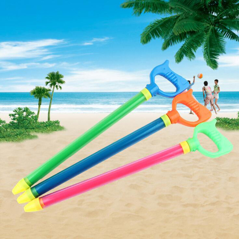 Children's Single-Tube Pull-Type Water Gun Drifting Water Cannon Summer Beach Parent-Child Interaction Play Water Sports Toys