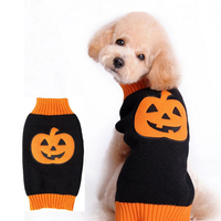 Pet Dog Clothes For Dogs Clothing Halloween Christmas Dot Costume Pumpkin Cosplay Jacket Coat Apparel Small Pet Warm Sweater