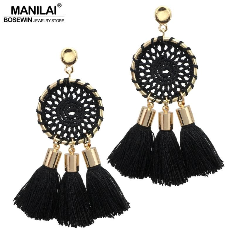 manilai-7-colors-nets-weaving-bohemia-tassels-earrings-for-women-beach-fontbjewelry-b-font-long-dang