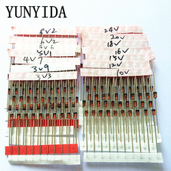 14 значений * 10 шт. = 140 шт. 1 вт набор диодов зенера DO-41 3,3 в-30 в фотосессия бесплатная доставка