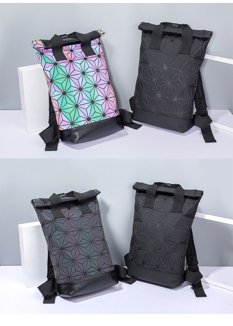 HTB19NcNSXzqK1RjSZFCq6zbxVXaa - Women's Holographic Backpack | Geometric