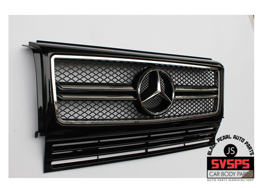 US $188 0 6% OFF|High Quality ABS Front Middle Grille For Mercedes Benz G  Class W463 W461 G55 G65 G500 G320 G400 1992 2017 Year-in Racing Grills from