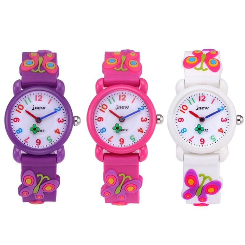 Children's Watch 3D Cartoon Children's Watch Child Baby Watch Clock Waterproof Quartz Watch Girl Boy Gift Relogio Montre