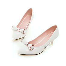 Women 's 2017 Spring And Autumn Elegant Pointed Toe Pumps New Stylish High Heels Shoes White Yellow Pink