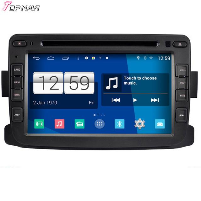 O Envio gratuito de 7 ''Quad Core S160 Android 4.4 jogador Do Carro DVD Multimídia para Renault Duster Com GPS Rádio Estéreo Espelho Ligação 16 Gb Flash