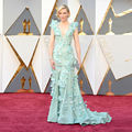Cate Blanchett at 2016 Oscars Gorgeous Celebrity Dresses with 3D Flowers Mermaid Mint Green Evening Dress Vestido de Festa