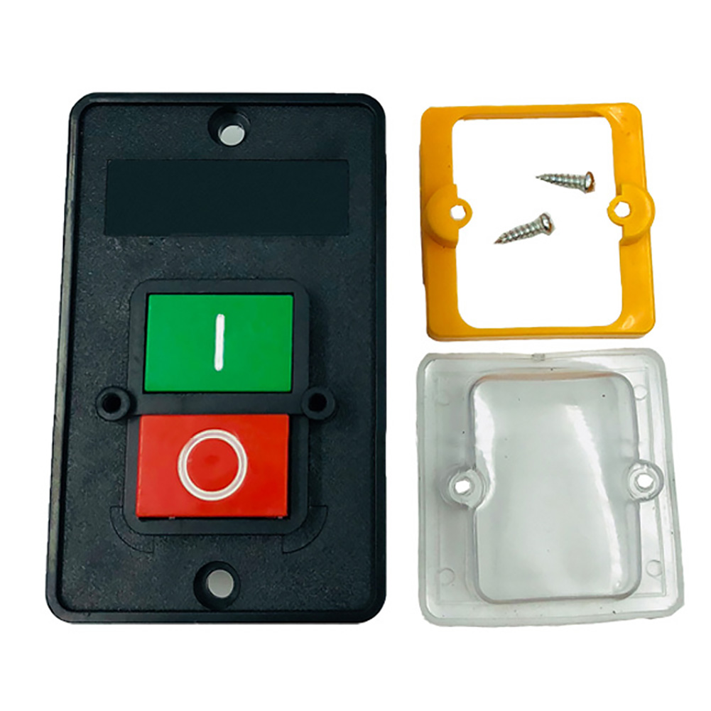 Image 4 - Durable Machine Drill Motor Waterproof Accessories Switch Industrial Push Button For Cutting ON/OFF Electric Home For KAO 5M-in Switches from Lights & Lighting