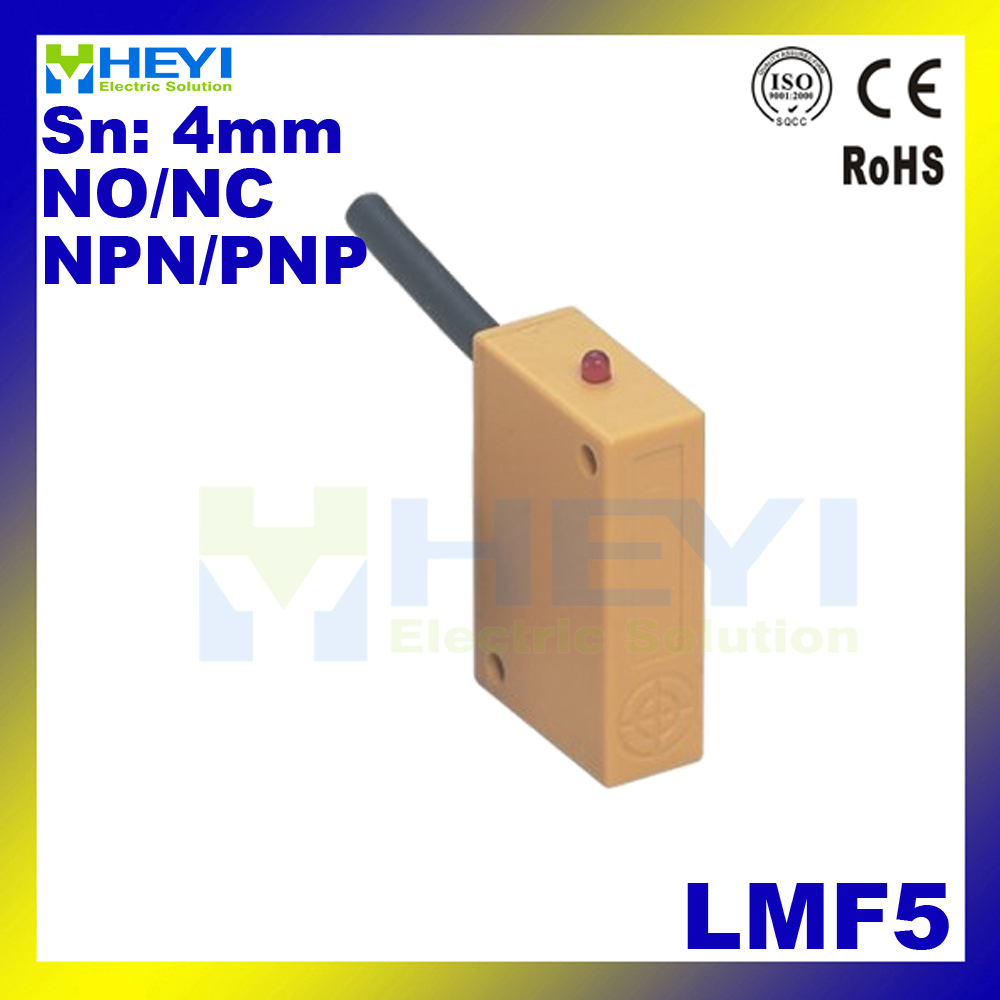 2 wire 3 wire NO or NC sensor switch square proximity sensor switch LMF5 inductive  sensor-in Switches from Lights & Lighting on Aliexpress.com | Alibaba ...