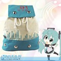 Hot-selling New Anime Vocaloid Hatsune Miku Cosplay Shoulder Bag Schoolbag Rucksack Backpack
