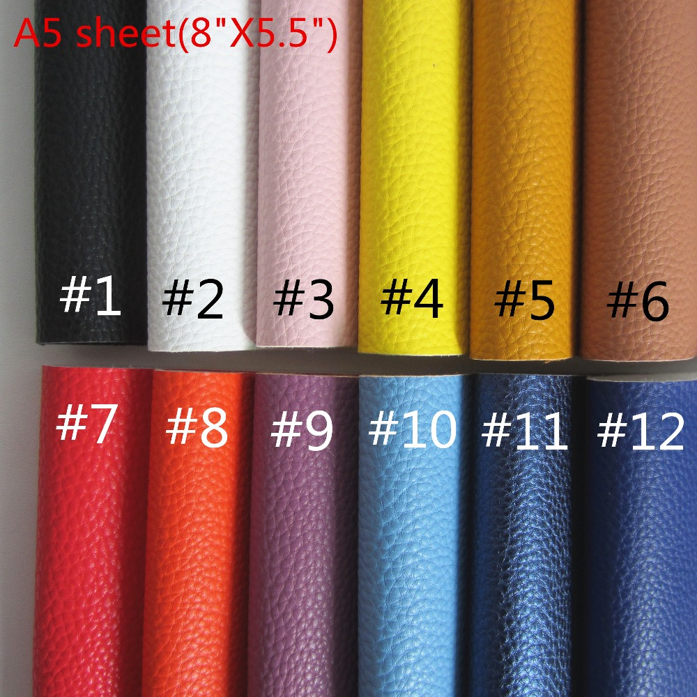 Apparel Sewing & Fabric Arts,crafts & Sewing Supply A4 Sheet 8x11.8 Soft Smooth Pu Artificial Leather Synthetic Faux Pu Leather Fabric For Bows Earring Diy 1pieces F0417