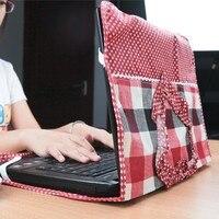 Copertura di stile del cuore di modo 14 pollice set di copertura antipolvere del computer portatile 56 cm * 34.5 cm trasporto libero