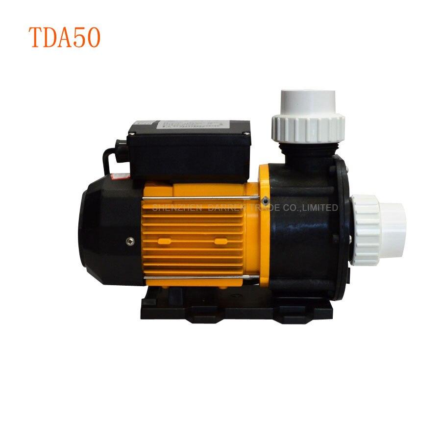 1 pièce TDA50 Type Pompe À Eau 0.37KW Pompe Pompes À Eau pour Whirlpool, Spa, bain À Remous et L'eau Salée Aquaculturel