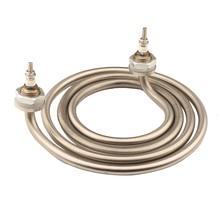 Isuotuo élément chauffant électrique à 4 anneaux, pour baril, chauffe eau 220V 2500W, bobine de pichet en acier inoxydable, élément de chauffage à 2 broches