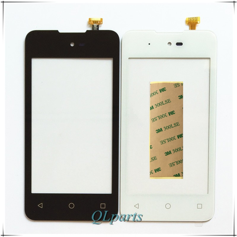 4.0 inch With Sticker Mobile Phone Touch Panel Sensor For Micromax Bolt D303 Touchscreen Touch Screen Digitizer Front Glass