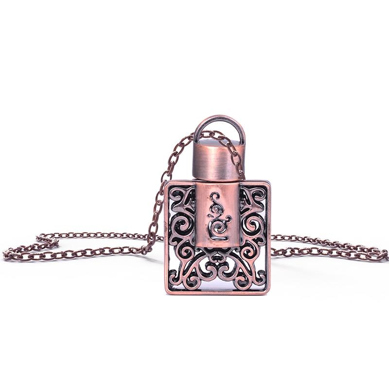 MUB 1ml sosire vechi pătrat parfum pandantiv parfum sticla bijuterii - Instrumente pentru îngrijirea pielii