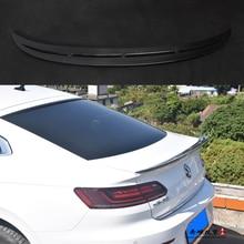 For Volkswagen VW Passat CC 2019 Auto Carbon Fiber  O-carbon fiber rear roof spoiler lip
