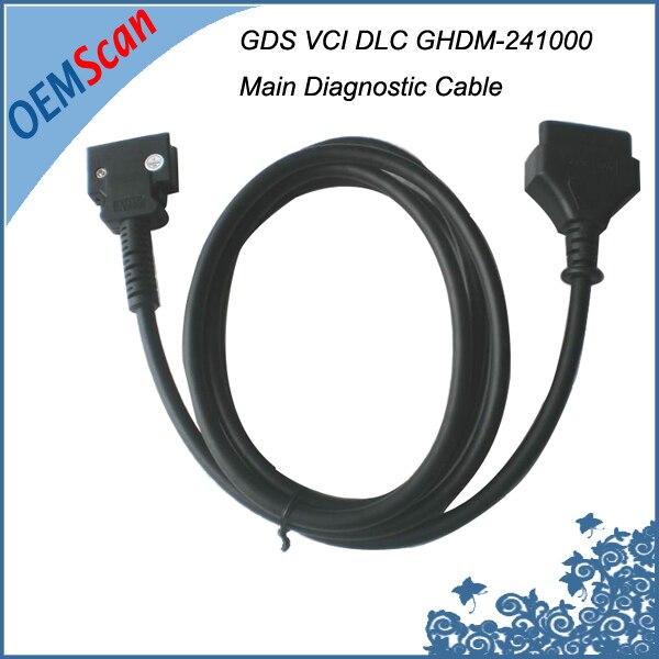 Цена за 2017 GDS VCI основной кабель DLC диагностический кабель GHDM-241000 с высоким качеством для Hyundai и kia GDS для Hyundai GDS сканер