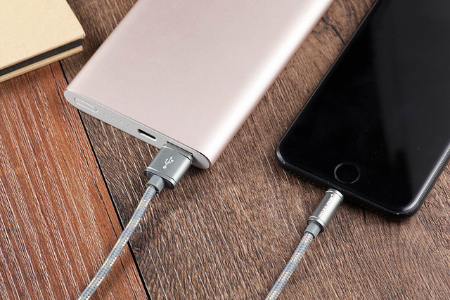 VOXLINK Lightning to USB Cable Fast Charger Adapter Original USB Cable For iphone 7 6 s plus 5 5s ipad mini Mobile Phone Cables