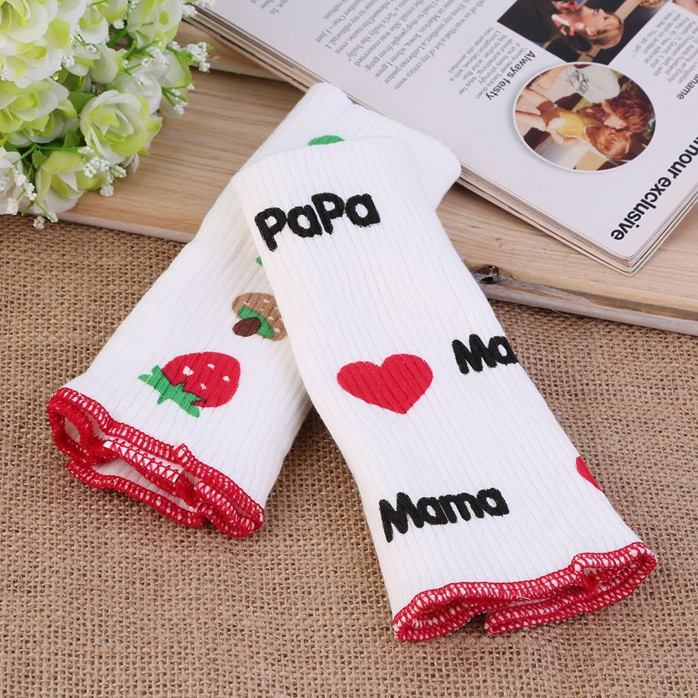 OUTAD 5Pcs Baby Infant Kids Print Double Layer Abdomen Belly Cover Warmer Bands Toddler Crawl Kneecaps Baby Leg Warmers Hot Sale