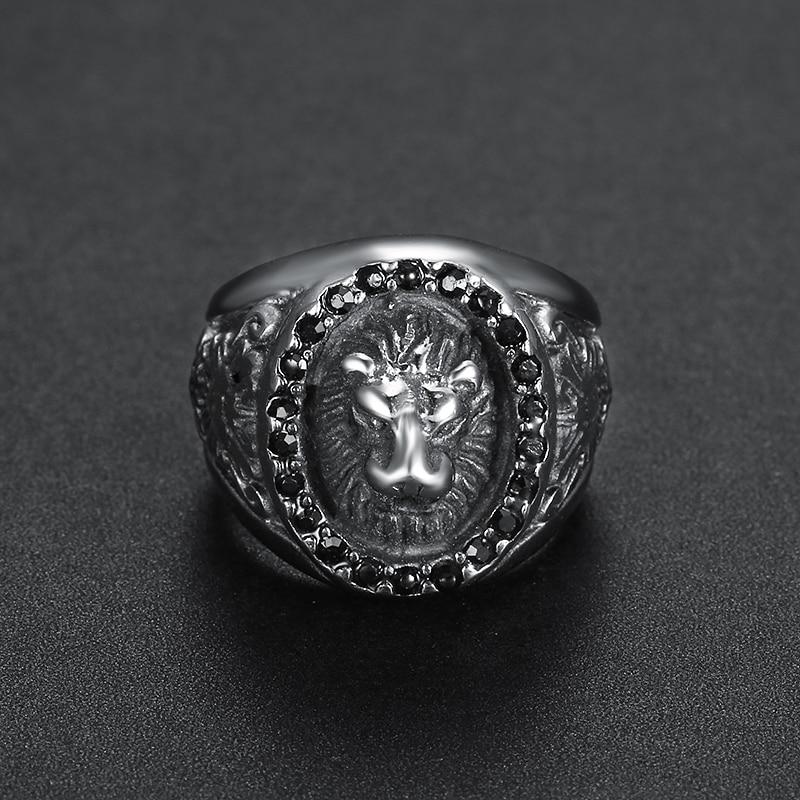 lion head rings for men (3)