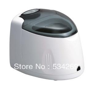 140ML White Plastic Mini Ultrasonic Cleaner for Denture