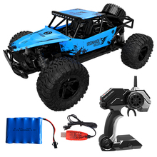 4WD Electric RC Car 1:16 Rock Crawler Remote Control Toy On The Radio 4x4 Drive Off-Road Toys Drift high-speed Car newest rc car electric toys zg9115 1 32 mini 2 4g 4wd high speed 20km h drift toy remote control rc car toys take off operatio