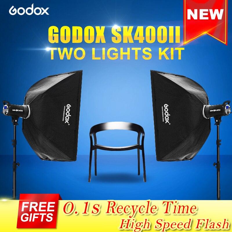 NEW SK400II 110V 220V Professional Studio standard kits SK Series Power 5600K Max 400WS GN65 Flash Strobe Light Lamp lenspen sensorklear ii sk ii a